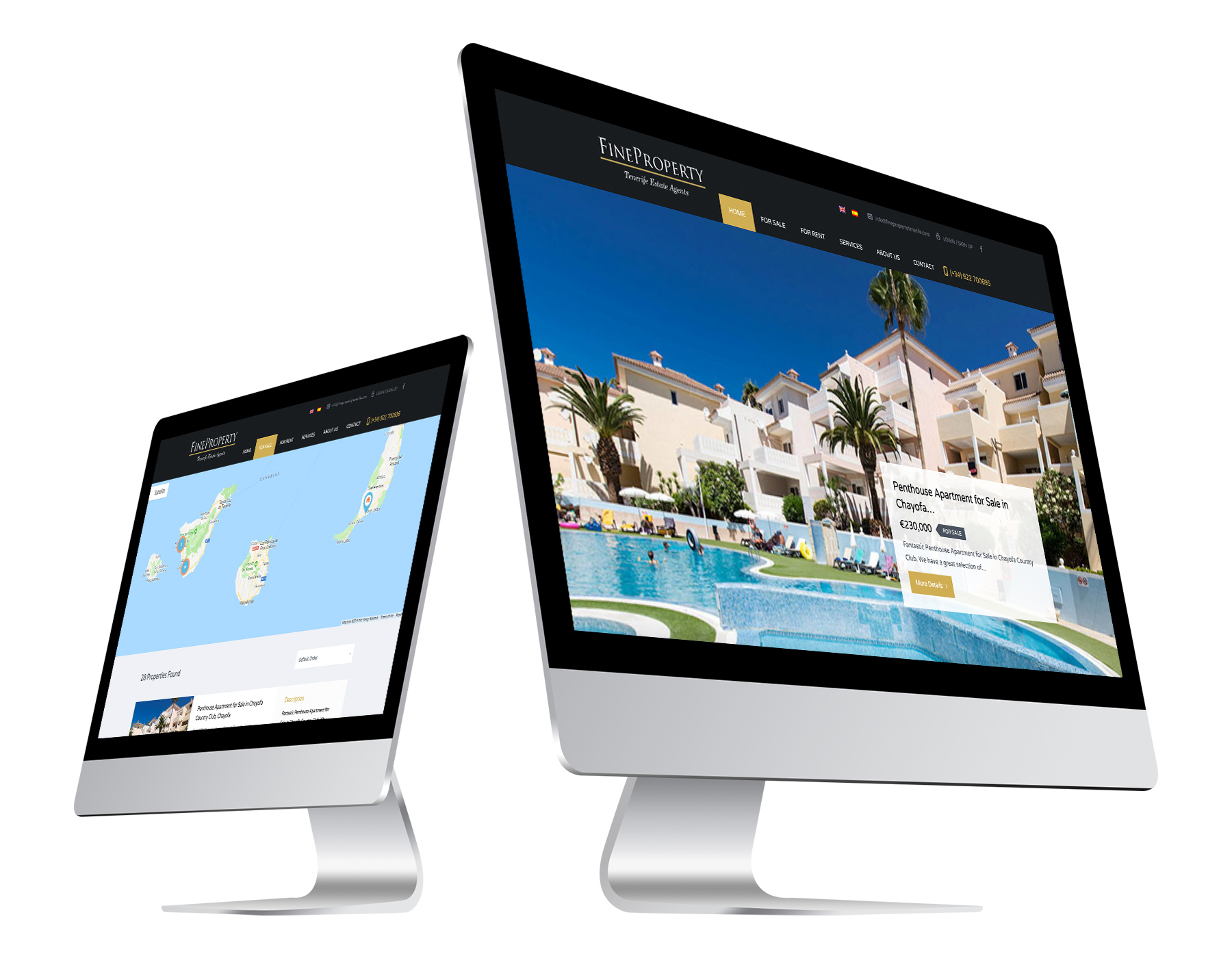 Fine Property Website